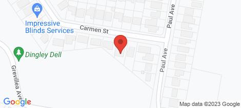 Location map for 27 Carmen Street St Ives