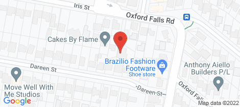 Location map for 37 Oxford Falls Road Beacon Hill
