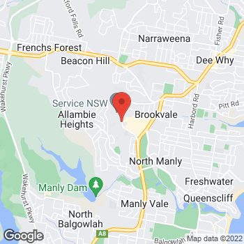Map of Scotch & Soda at Old Pittwater Road, Brookvale, NSW 2100