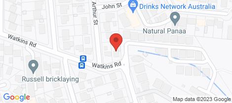 Location map for 25/23 Watkins Road Baulkham Hills