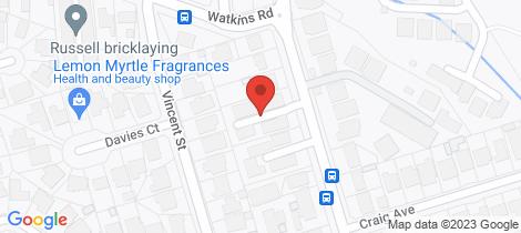 Location map for 5/18-20 Watkins Road Baulkham Hills