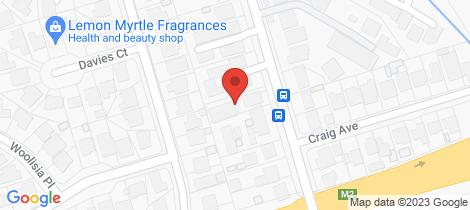 Location map for 12A Watkins Road Baulkham Hills