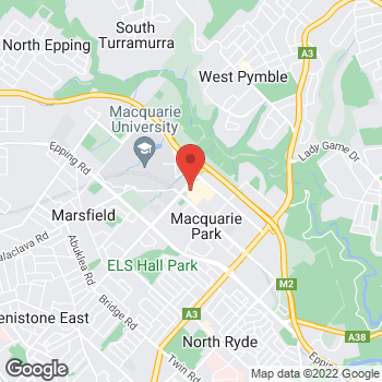 Map of STA Travel at Shop 438 Herring and amp Waterloo Road, North Ryde, NSW 2113
