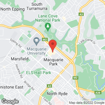 Map of STA Travel at Shop 438 Herring  and Waterloo Road, North Ryde, Macquarie Centre, NSW 2113