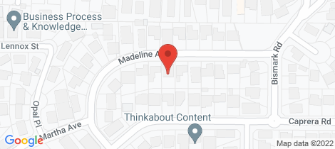 Location map for 14 Madeline Avenue Northmead