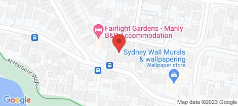 Location map for 60 Lauderdale Avenue Fairlight