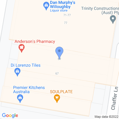 Andersons Pharmacy 69 Penshurst St , WILLOUGHBY, NSW 2068, AU