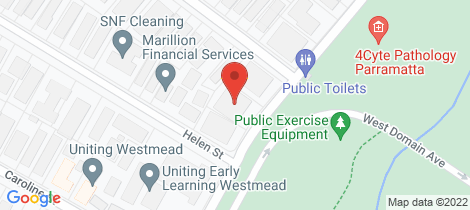 Location map for 4/27 Park Avenue Westmead