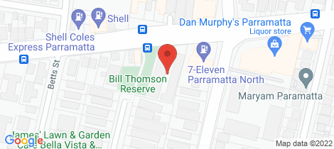 Location map for 2/75 Victoria Road Parramatta