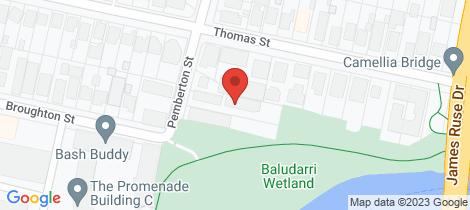 Location map for 6/14 Pemberton Street Parramatta