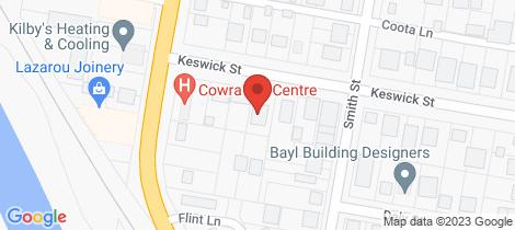 Location map for 7 Keswick Street Cowra