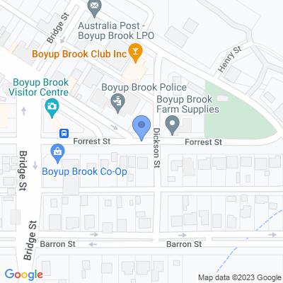 Regional WA - CRT Boyup Brook Farm Supplies 36 Forrest Street , BOYUP BROOK, WA 6244, AU