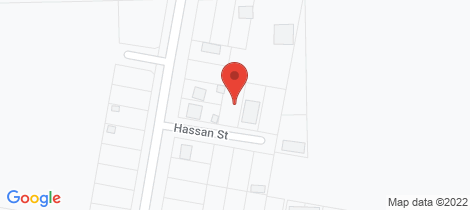 Location map for 6 Hassan Street Cowra
