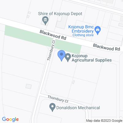 Regional WA - Kojonup Agricultural Supplies 2 Thornbury Close , KOJONUP, WA 6395, AU