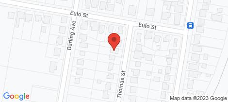 Location map for 20 Thomas Street Cowra