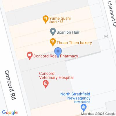 Concord Road Pharmacy  197 Concord Rd , NORTH STRATHFIELD, NSW 2137, AU
