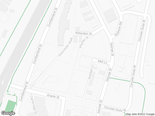 Map, showing P'Nut Street Noodles