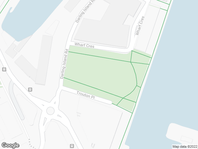 Map, showing Metcalfe Park