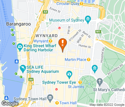 Map of Challis House, Level 4, 4 Martin Pl in Sydney