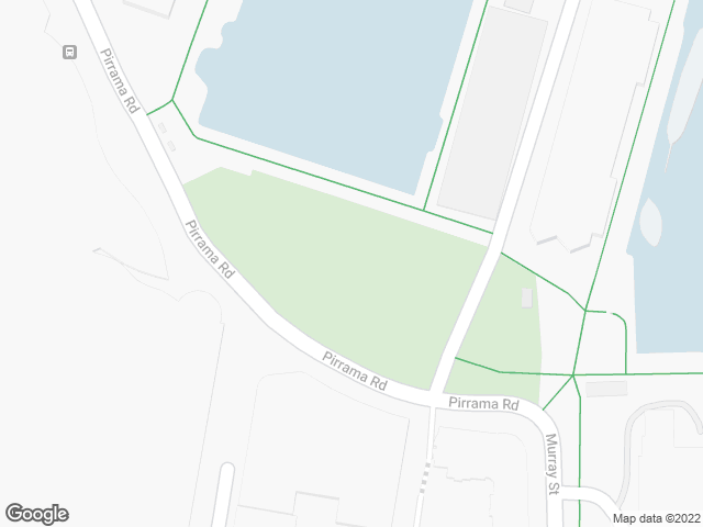 Map, showing Pyrmont Bay Park