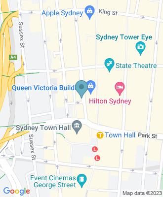 Map of location for Flourish Sydney