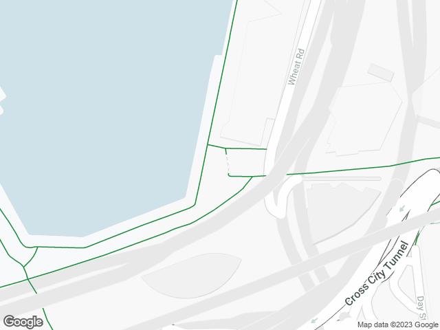 Map, showing Druitt Landing