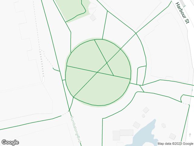 Map, showing Tumbalong Park