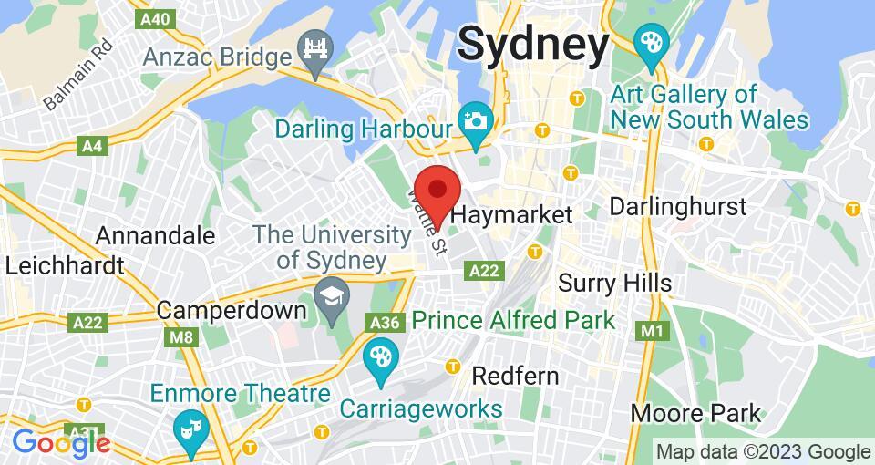 Google Map of UniLodge Wattle Lane