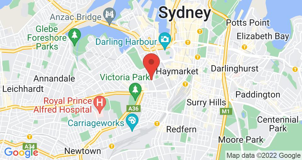 Google Map of UniLodge Ultimo