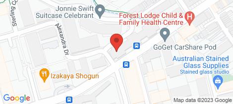 Location map for 80/10 Pyrmont Bridge Road Camperdown