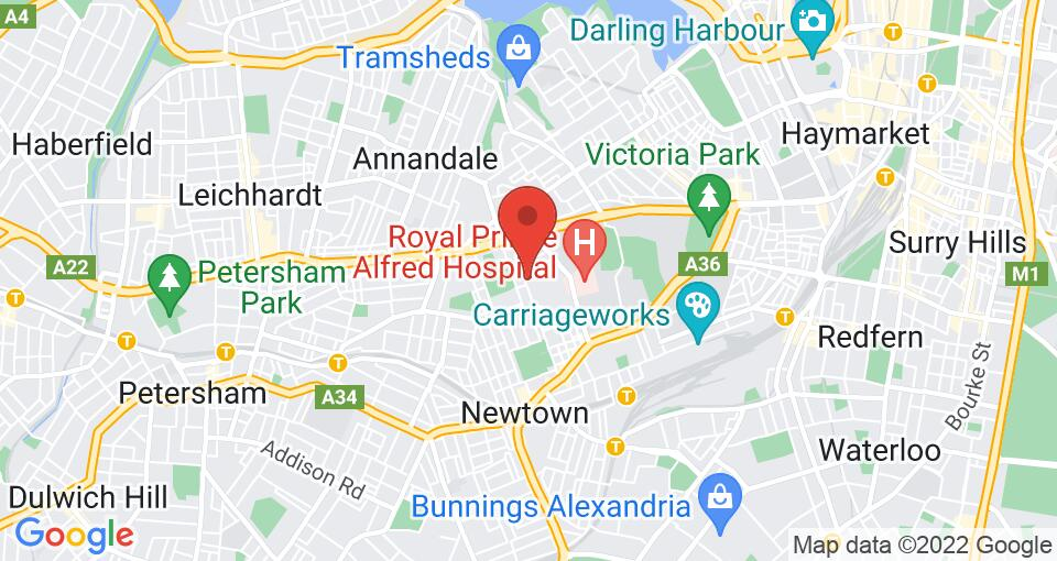 Google Map of University of Sydney - Queen Mary Building