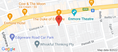 Location map for 5/2-4 Simmons Street Newtown