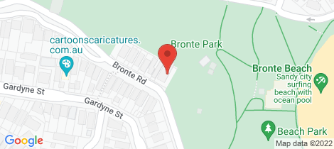 Location map for 8/500 Bronte Road Bronte
