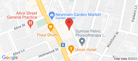 Location map for 34/37 Iredale Street Newtown