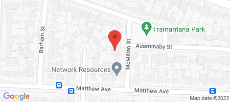 Location map for 7 McMillan Street Heckenberg