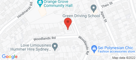 Location map for 1-6/65 Woodlands Road Liverpool
