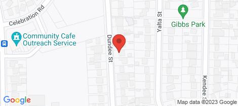 Location map for 19 Dundee Street Sadleir