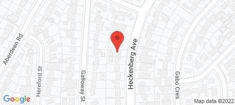Location map for 44 Heckenberg Avenue Busby