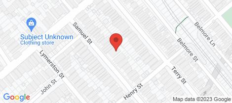 Location map for 5/81-83 Samuel Street Tempe