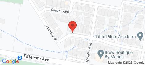 Location map for 30 Melrose Street Middleton Grange