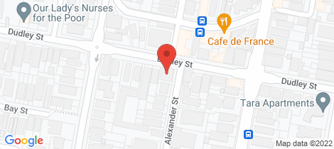 Location map for 8/90 Dudley Street Coogee