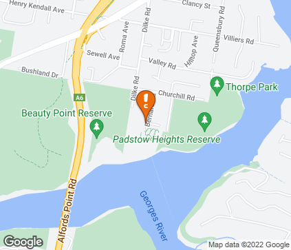Map of Beauty Point Retirement Resort in Padstow Heights
