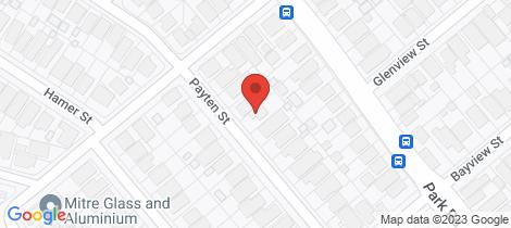 Location map for 34 Payten Street Kogarah Bay