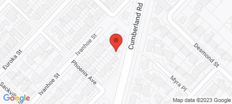 Location map for 129 Cumberland Road Ingleburn
