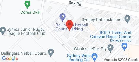Location map for 1E/216 Box Road Miranda