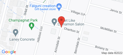 Location map for 14 Charlton Street Gregory Hills