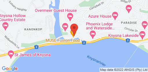 Directions to MUSE Fusion Food