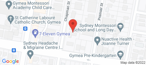 Location map for 6/38-40 Chapman Street Gymea