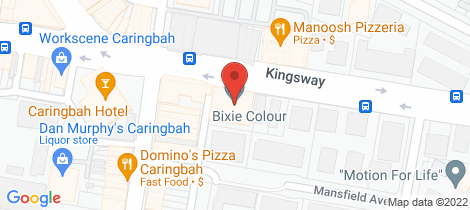Location map for 509/296-300 Kingsway Caringbah