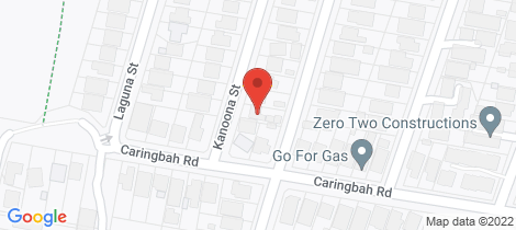 Location map for 40 Kanoona Street Caringbah South